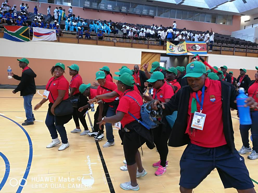 UNIMA AT FORT HARE FOR SAUSSA GAMES